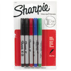 Sharpie Ultra Fine Point Permanent Markers - Assorted - 5 Pack
