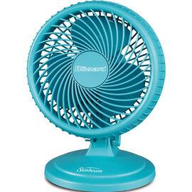 Sunbeam Blizzard 8-inch Table Fan - Blue - SAOF87BLZSB-CNB