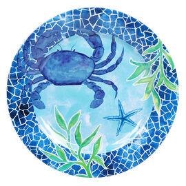 London Drugs Melamine Salad Plate - Crab - 9in