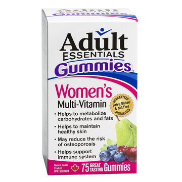 Adult Essentials Multi Vitamin Gummies - Women's - 75's
