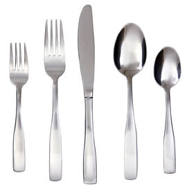 Cambridge Madison Satin Cutlery - 45 pieces