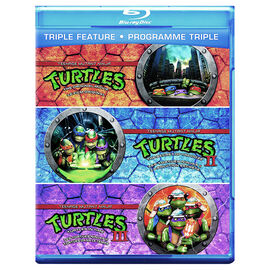 Teenage Mutant Ninja Turtles Triple Feature - Blu-ray