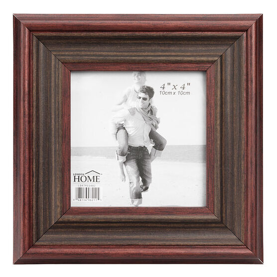 London Home Frame Classic Wood - 4x4in