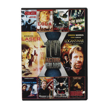 10 Action Films - DVD