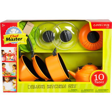 Chef Master Deluxe Kitchen Pots and Pans Set - 10 piece