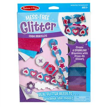 Melissa & Doug Mess-Free Glitter Foam Bracelets