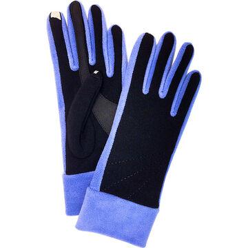 Isotoner SmarTouch Fleece Gloves - Ultra Violet