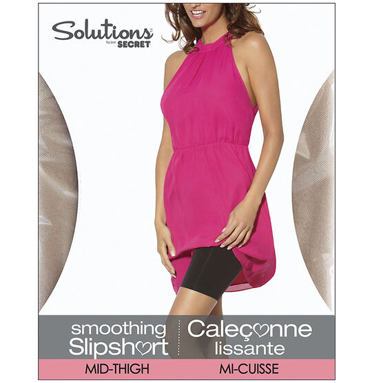 Secret Solutions Mid-Thigh Slipshort - Medium - Nude
