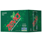 Zevia Soda - Ginger Ale - 6 x 355ml
