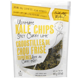 Solar Raw Kale Chips - Curry - 100g