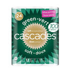 Cascades Bathroom Tissue - 12 Double Rolls