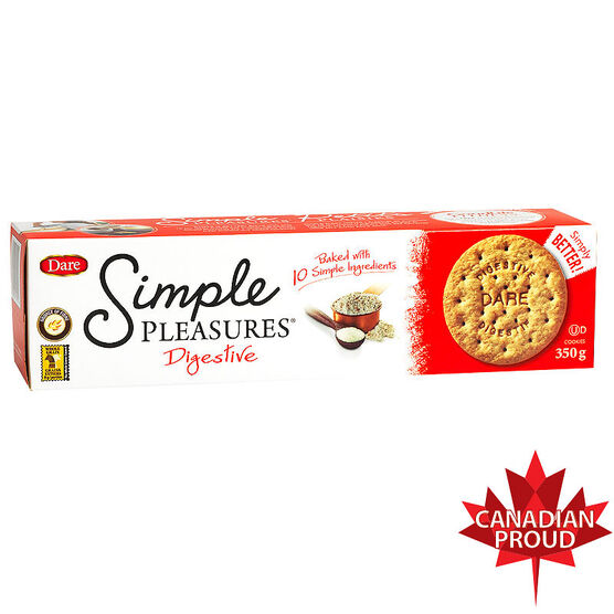 Dare Simple Pleasures Cookies - Digestive - 350g