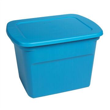 Sterilite Tote Box - Blue - 68 L