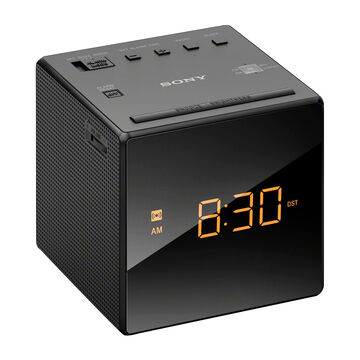Sony AM/FM Alarm Clock - Black - ICFC1B