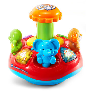 VTech Twirl and Learn Animal Top