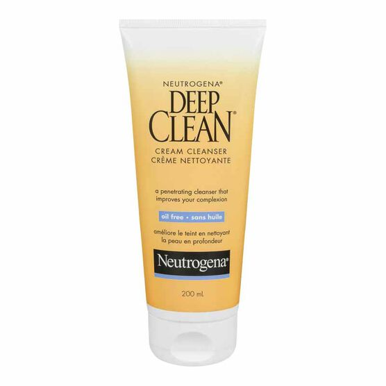 Neutrogena Deep Clean Cream Cleanser - 200ml