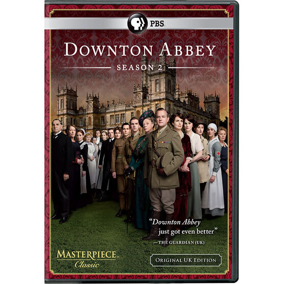 Downton Abbey: Season 2 - DVD