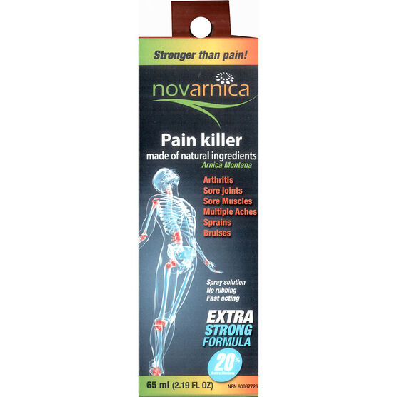 Novarnica Pain Killer Spray - 65ml