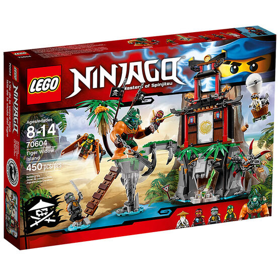 Lego Ninjago - Tiger Widow Island