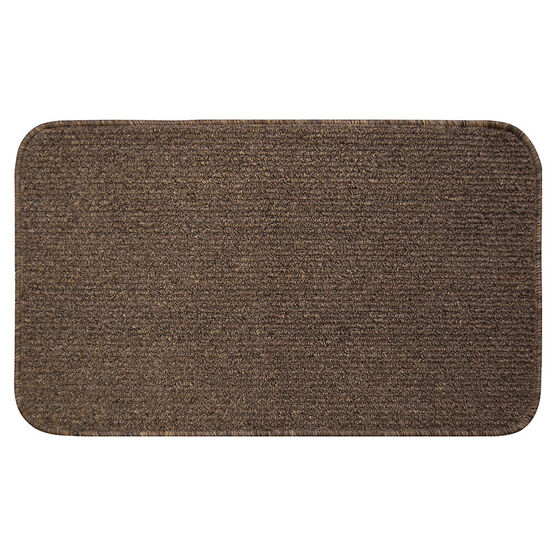 Multy Home Brooklyn Solid Indoor Mat - Natural - 2x3 feet