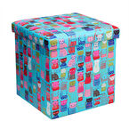 London Drugs Folding Storage Box - Cats - 38 X 38 X 37cm