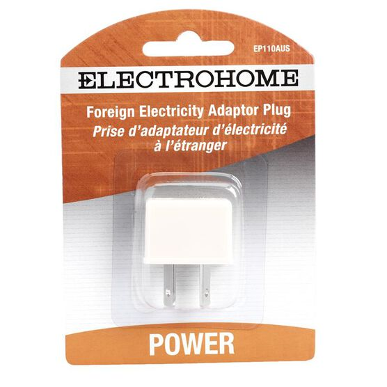 Electrohome EP110AUS - Power connector adapter - power Australian 2-pin (M) - power 2-pole (F)