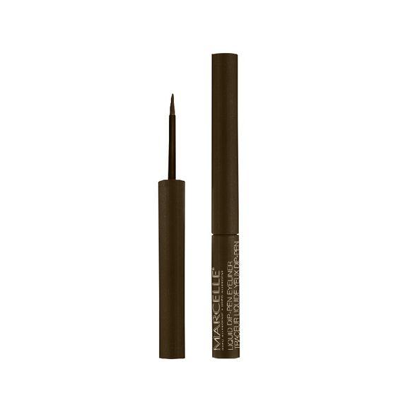 Marcelle Waterproof Liquid Dip-Pen Eyeliner - Brown