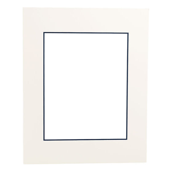 Tempo 16x20 Mat Frame - Chantilly/Mid-Blue