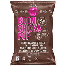Angie's Boomchickapop Popcorn - Dark Chocolatier Sea Salt - 128g