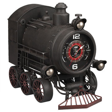 London Drugs Metal Train Wall Clock - 53 x 31 x 47cm