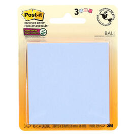 3M Post-It Super Sticky Notes - Bali - 3 x 3 Inches - 3 Pads Per Pack