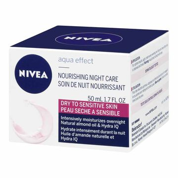 Nivea Visage Aqua Effect Nourishing Night Care - 50ml