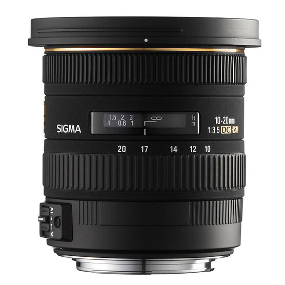 Sigma EX DC 10-20mm F3.5 HSM Lens for Sony