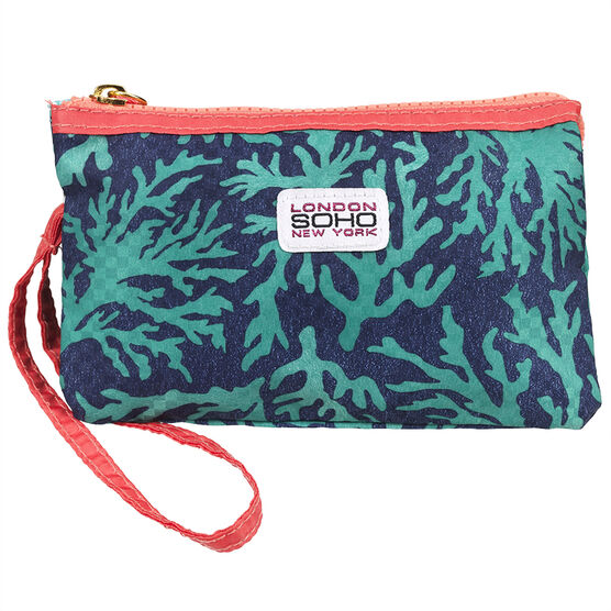 London Soho New York Wristlet - Coral Reef - 65E5247VQ