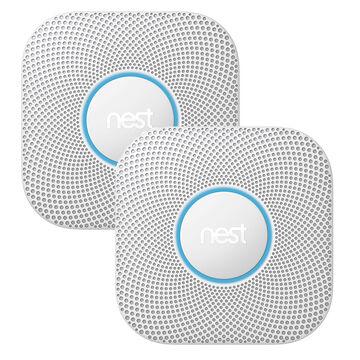 Nest Smoke Carbon Alarm Package - 2 x S3003LWEF