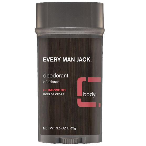 Every Man Jack Deodorant - Cedarwood - 88g