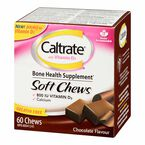 Caltrate Soft Chews with Vitamin D - Chocolate - 60's