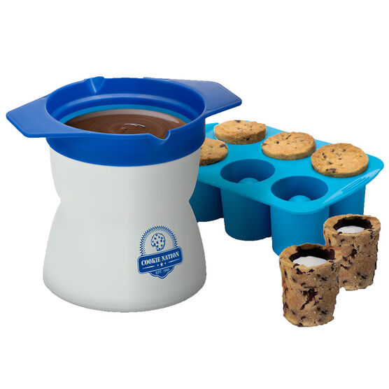 Smart Planet Milk Cookie Shot Maker - White/Blue - CNB-1SM