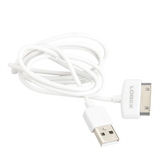 Logiix Sync and Charge Cable - White - LGX10125