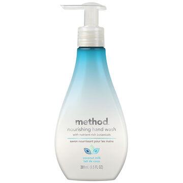 Method Nourishing Hand Wash - Coconut Milk - 281ml