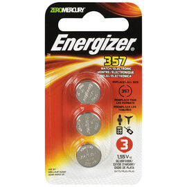 Energizer Watch/Electronic Batteries - 357BPZ - 3 Pack