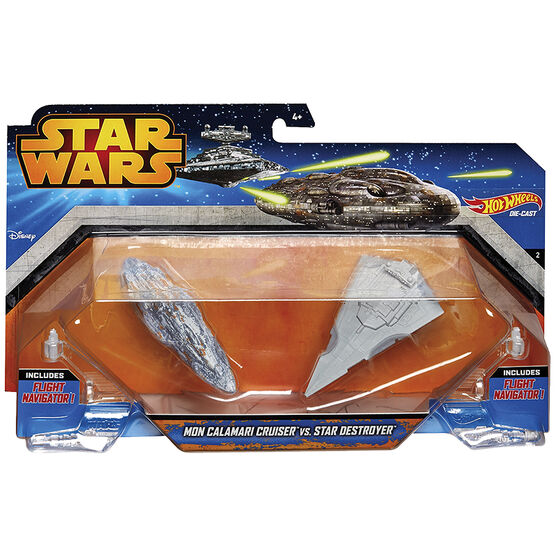 Hot Wheels Star Wars Starship - 2 pack