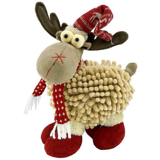 Christmas Forever Plush Reindeer - 9 in