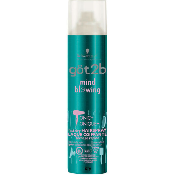 got2b Mind Blowing Fast Dry Hair Spray - 257g