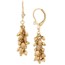Haskell Cluster Earrings- Gold