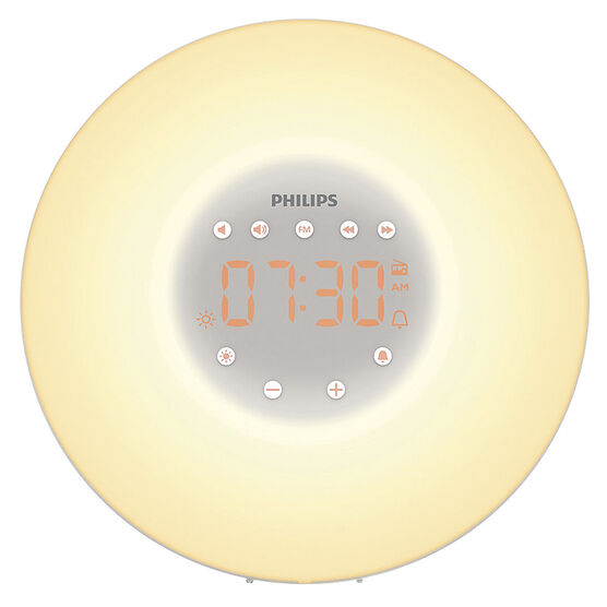 Philips Wake Up Light Thin -  White -HF350560