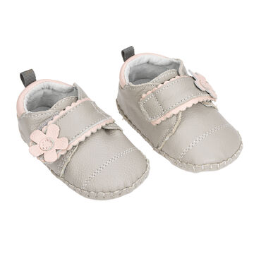 Outbaks Leather Dotty Shoes - Girls Assorted