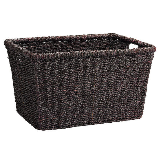 London Drugs Seagrass Basket - Dark Brown - Extra Small