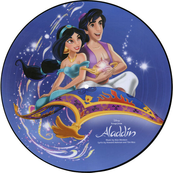 Disney's Aladdin - Soundtrack - Picture Disc Vinyl