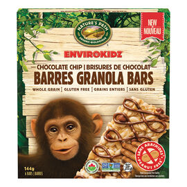 Nature's Path Envirokidz Granola Bars - Chocolate Chip - 144g
